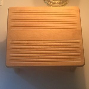 Other - Malaysian Wood Step Stool